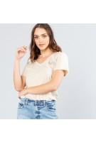 ABBIE T-Shirt Rusty Ladies